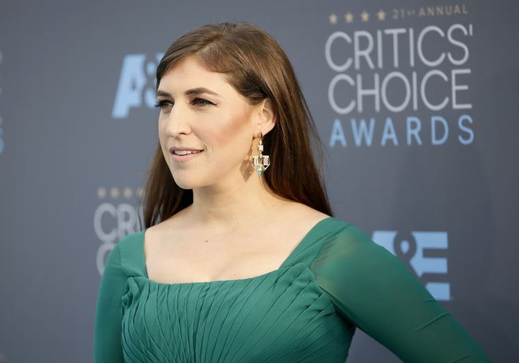 Actress Mayim Bialik arrives at the 21st Annual Critics' Choice Awards in Santa Monica, California