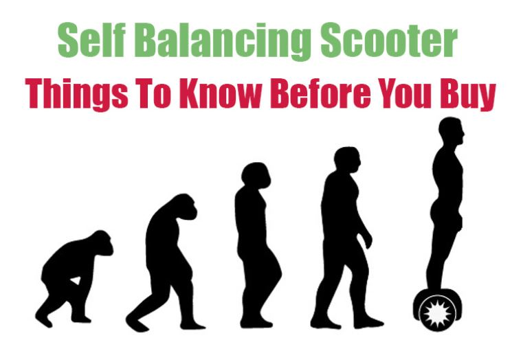self balancing scooter