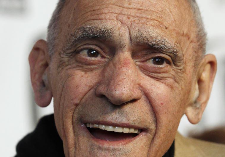 "Actor Abe Vigoda arrives at the ""TV Land Awards 2011"" in New York City April 10, 2011."