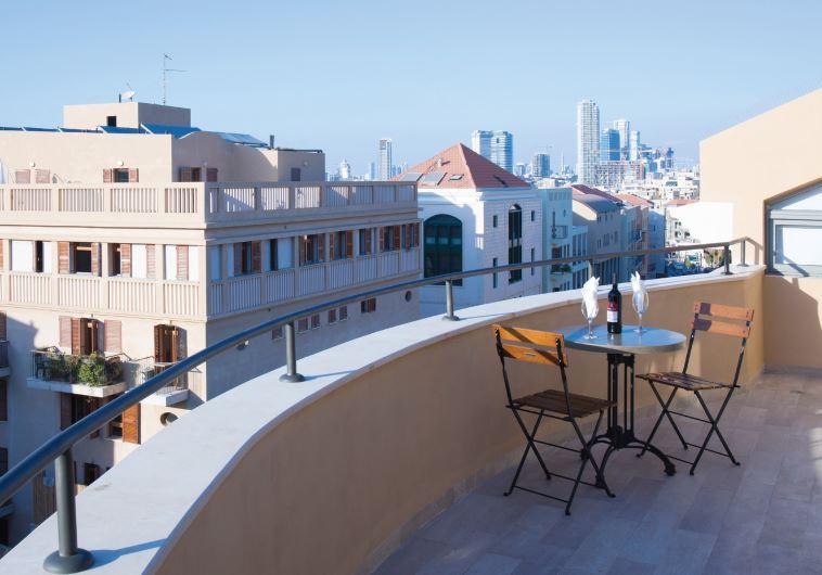 The Margosa hotel in Jaffa