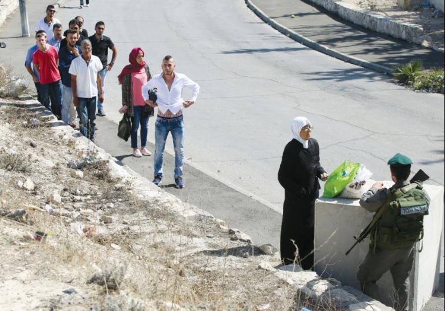Jerusalem checkpoints