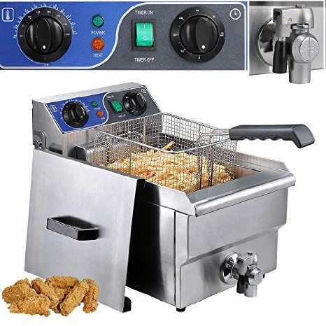 deep fryer countertop vollrath lb commercial