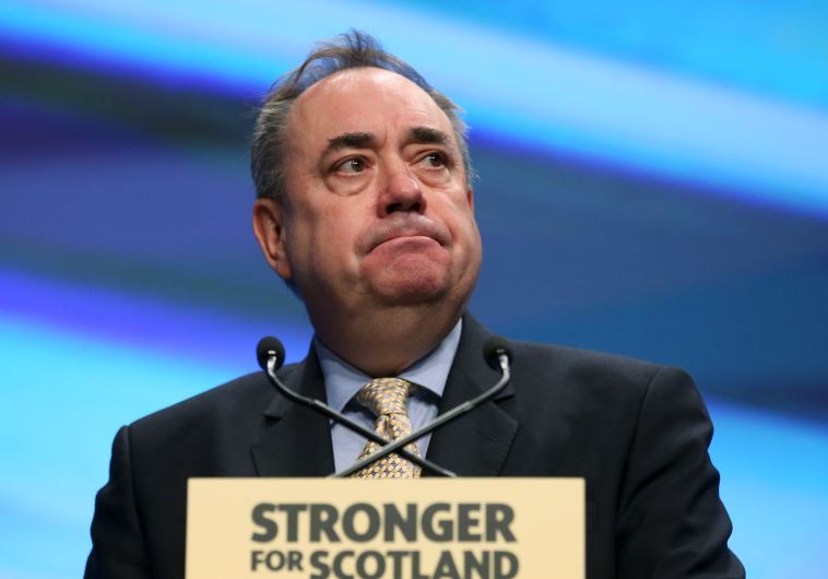UK rep to the European Council Alex Salmond
