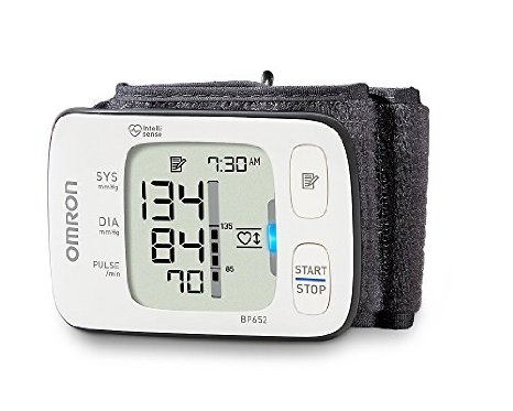 Omron 7 Series UltraSilent Wrist Blood Pressure Monitor