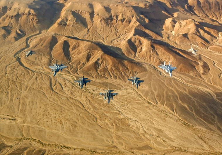 IAF jets take part in a multinational aerial exercise in Nevada