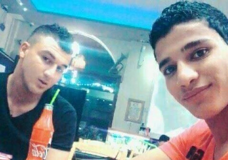 Ahmed Zakarneh and Mohamed Kmail, two of the Palestinian assailants involved in the Jerusalem attack