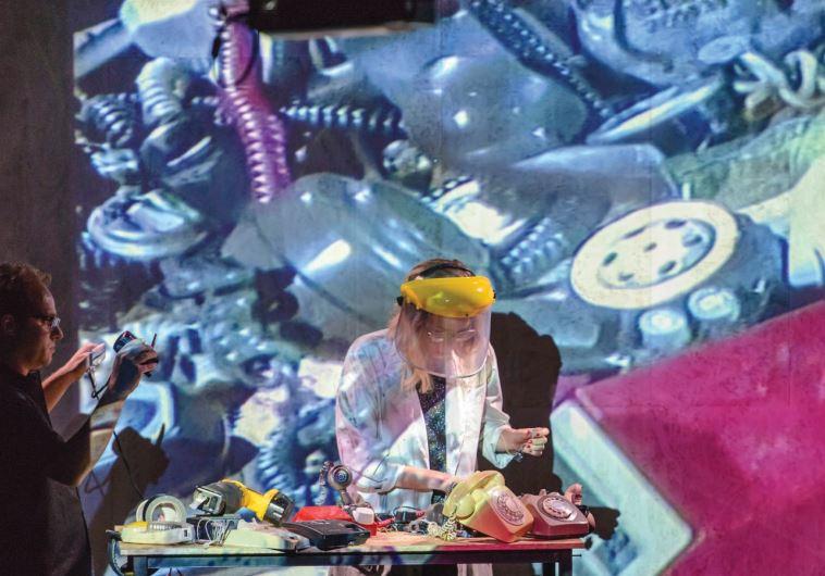 A SCENE from the multidisciplinary performance 'Broken Telephone.'