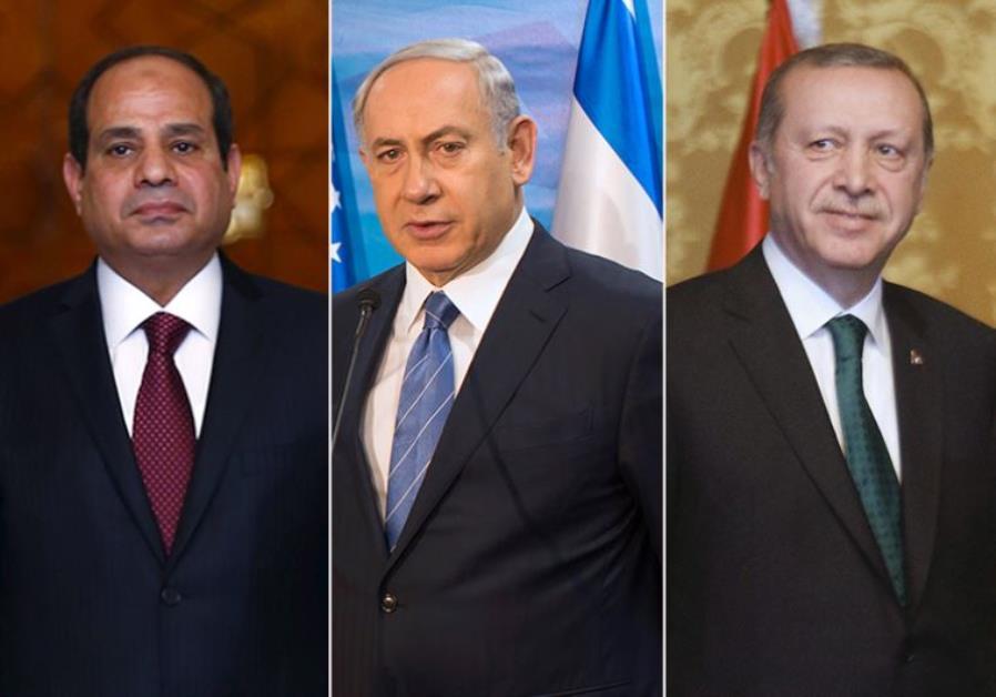 Israel Turkey Egypt