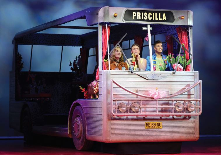 A SCENE from the West End production of 'Priscilla Queen of the Desert: The Musical.'