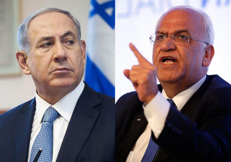 Netanyahu Erekat