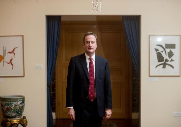 British Ambassador David Quarrey