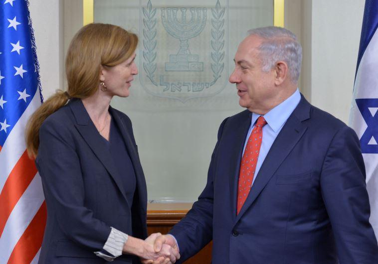 Netanyahu Samantha Power