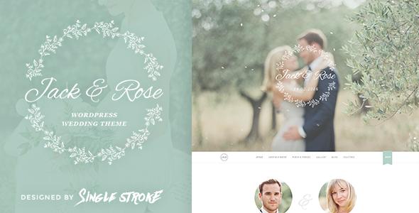 wedding website themes