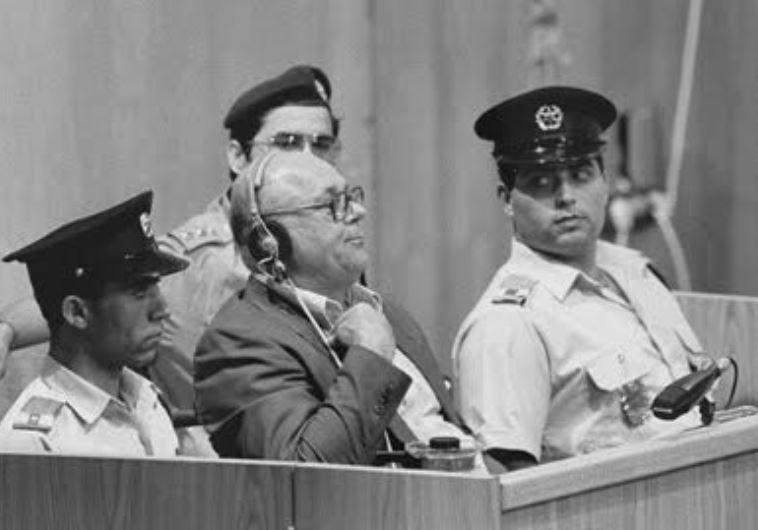 John Demjanjuk hearing his death sentence in Jerusalem