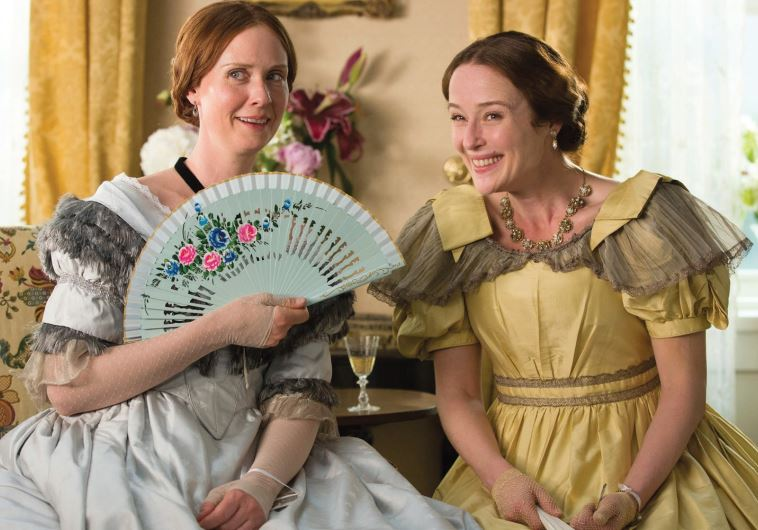 CYNTHIA NIXON (left) and Jennifer Ehle star in Terence Davies' 'A Quiet Passion.'