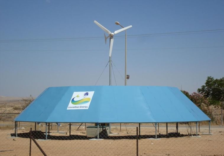 "A ""Wind Energizer"" built by Leviathan Energy Renewables"