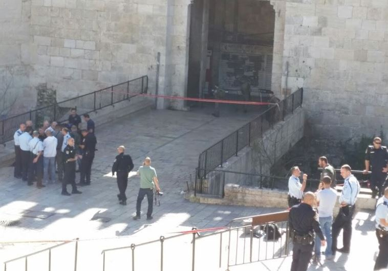 damascus gate stabbing