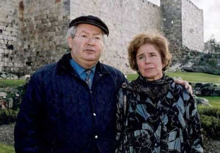 Beate Klarsfeld and her husband.