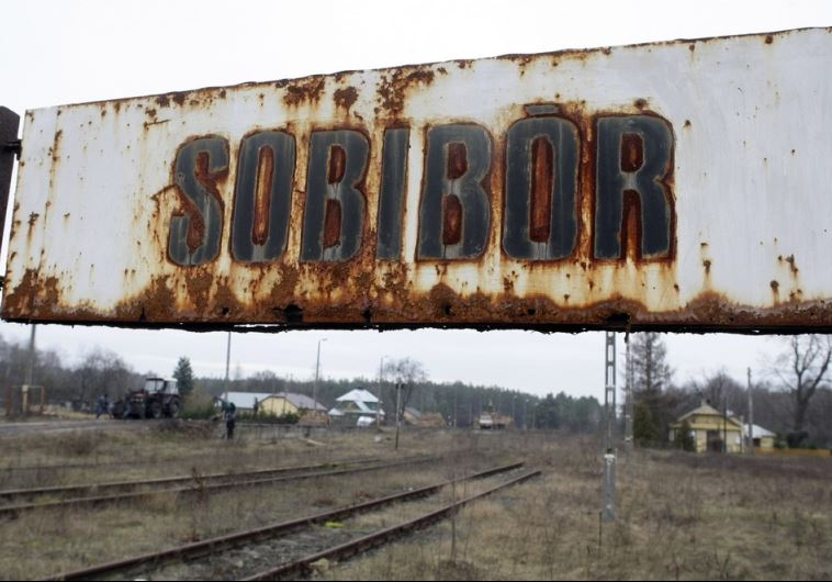 A view of the Sobibor train station, not far from the site of the Sobibor death camp in Poland