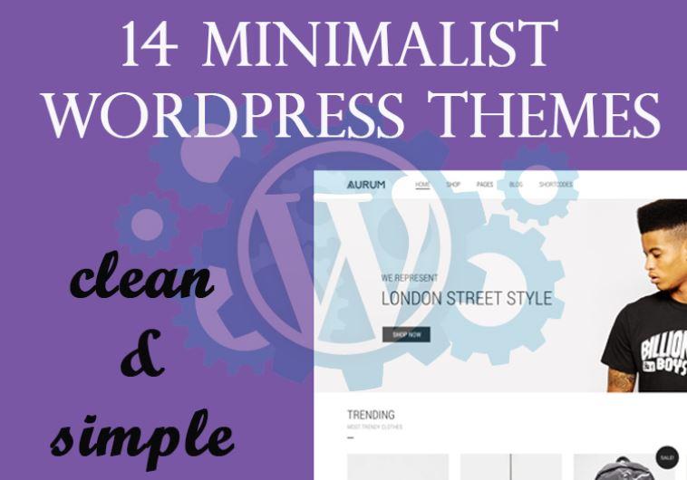 14 Minimalist Wordpress Themes For Clean & Simple Websites