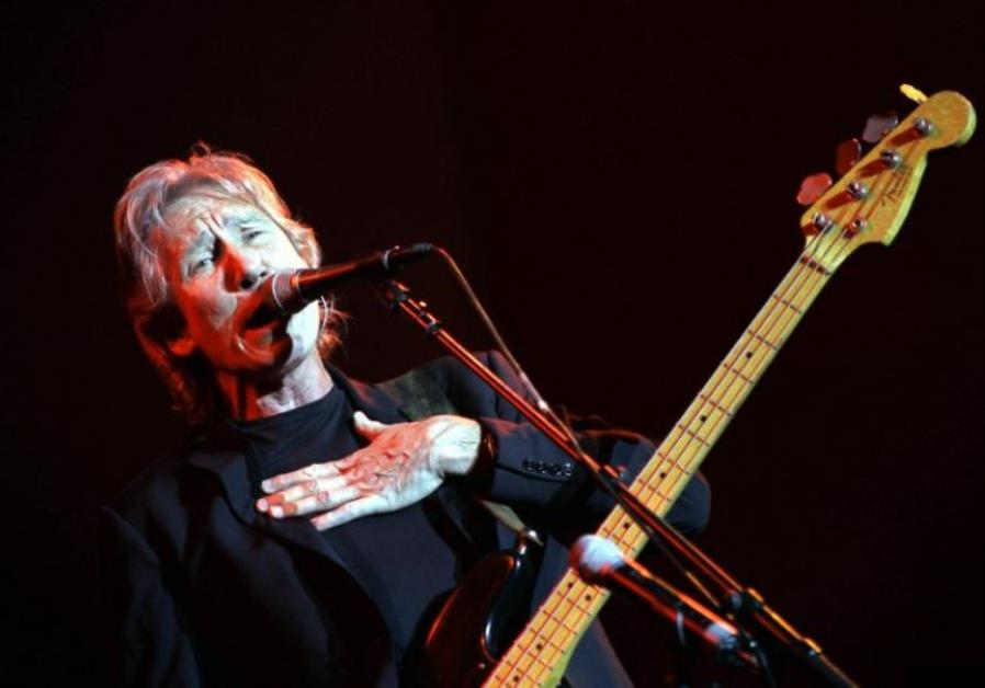 Roger Waters performs during a concert in Neveh Shalom, Israel in 2006