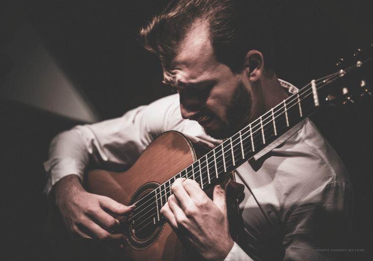 Romanian guitarist Mircea Gogoncea