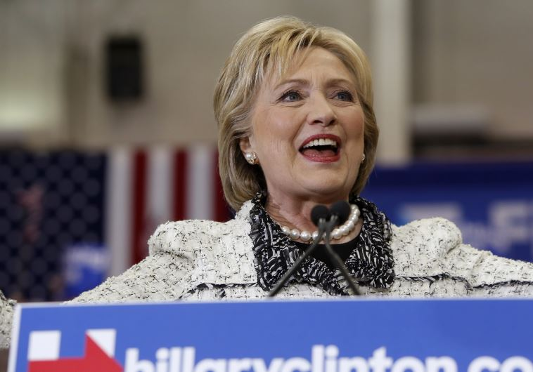 Democratic U.S. presidential candidate Hillary Clinton speaks about the results of the South Carolin