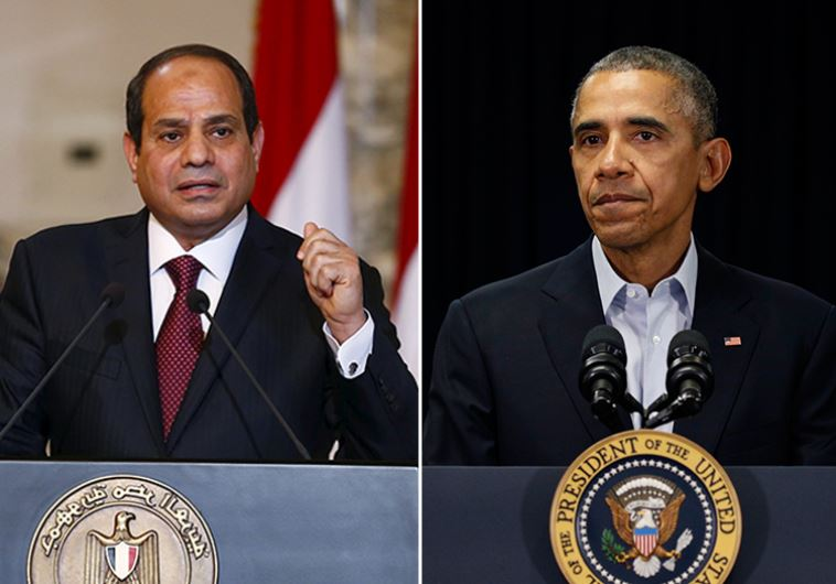 Obama and Sisi