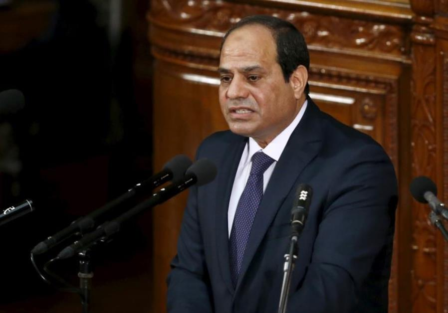 Sisi: The Israeli-Palestinian conflict feeds international terror organizations