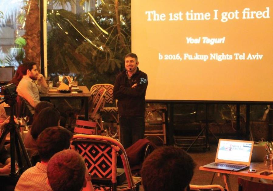 Fu**Up Nights forum series in Tel Aviv