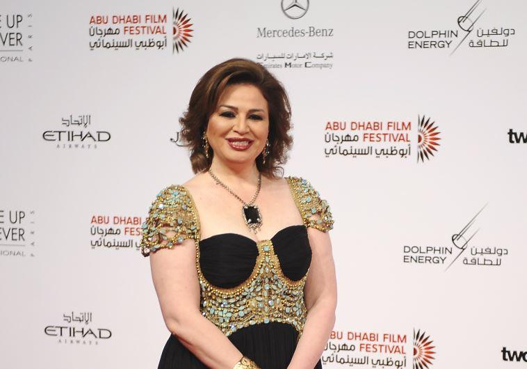 Egyptian actress Elham Shaeen