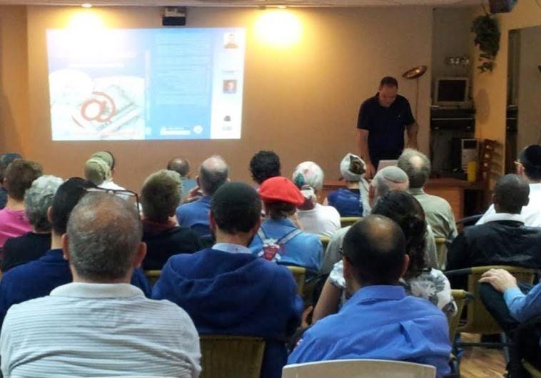 Entrepreneurs attend a seminar provided by MATI – The Jerusalem Business Development Center.
