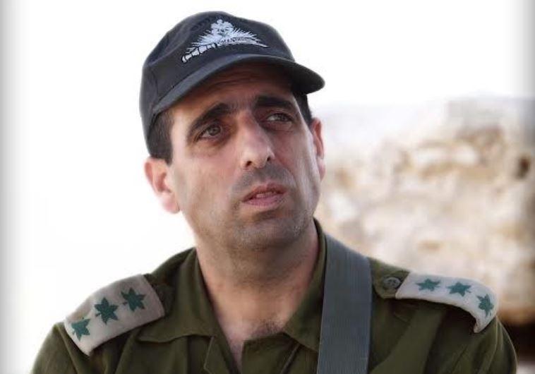 IDF Brig. Gen. Ofek Buchris.