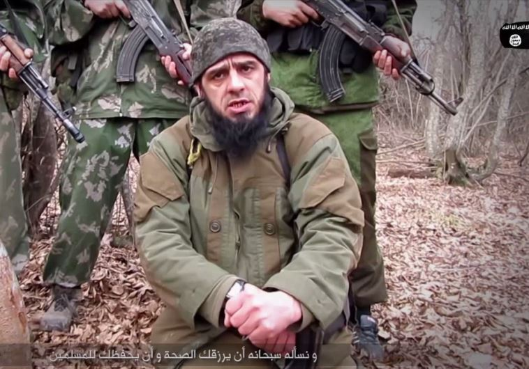 ISIS branch calls on Muslims to kill 'Russian apostates', vows to attack  Putin - Middle East - Jerusalem Post
