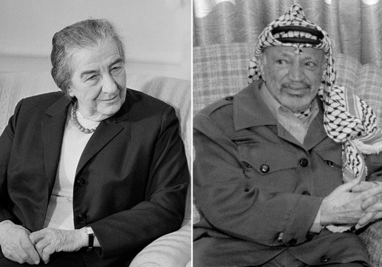 Golda Meir Yasser Arafat