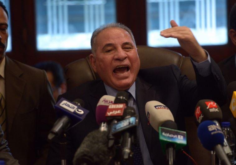 Egyptian Justice Minister, Ahmad Zind