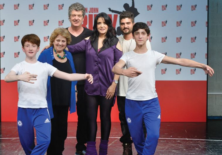 THE CAST of the Israeli production of 'Billy Elliot'