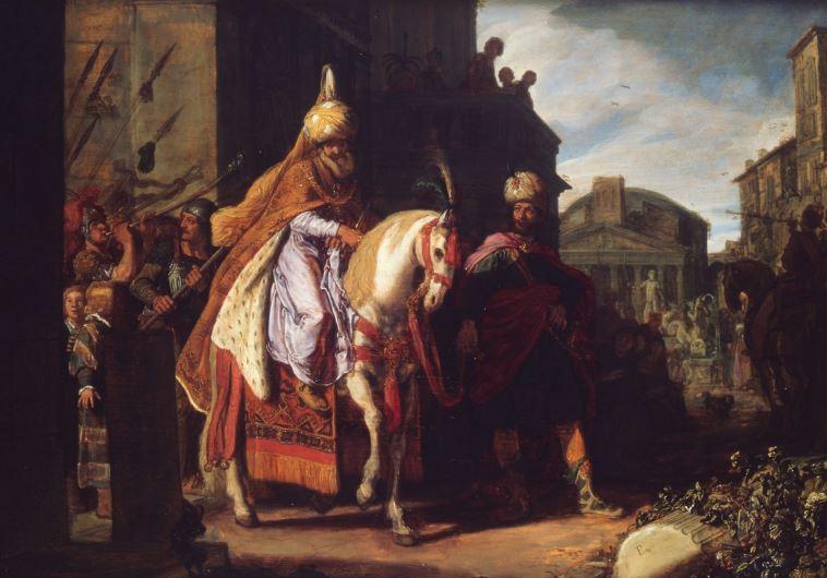 'The Triumph of Mordecai'