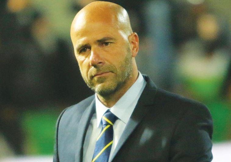 Maccabi Tel Aviv coach Peter Bosz
