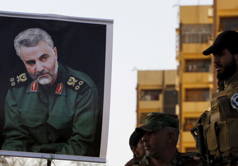 Qassem Suleimani, the commander of the Iranian Revolutionary Guard's Quds Force