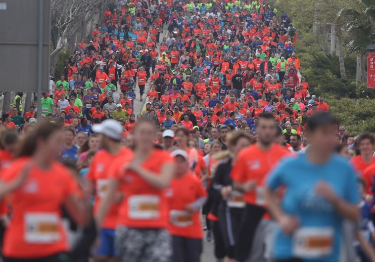 Sixth annual Jerusalem Marathon