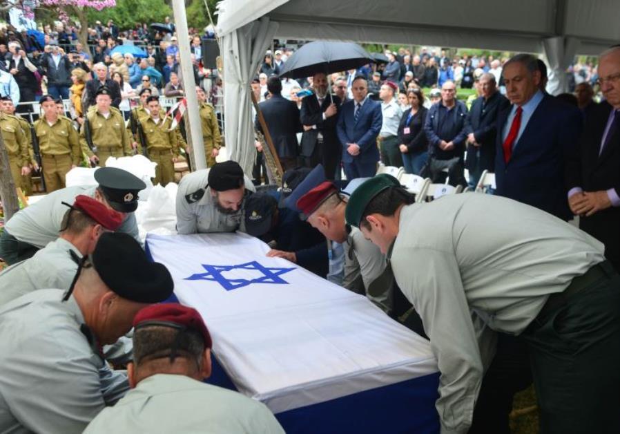 Funeral of Meir Dagan