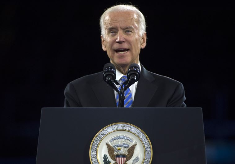 US Vice President Joe Biden addresses the AIPAC 2016 Policy Conference on March 20, 2016 in Washingt