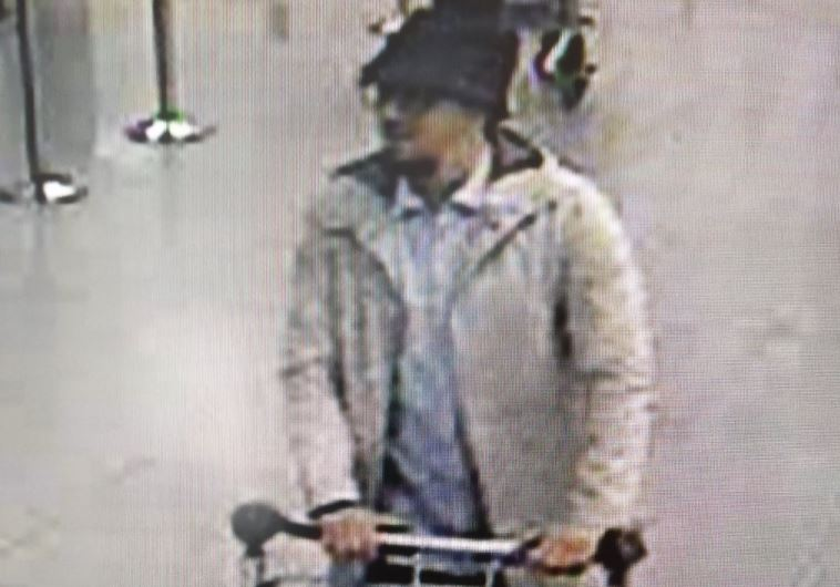 Photo of suspect released by Belgian Police