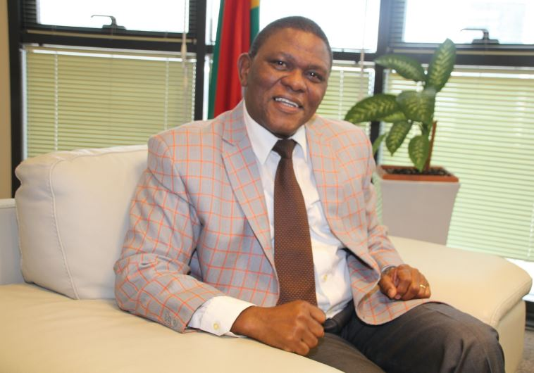 SOUTH AFRICA'S Ambassador Sisa Ngombane: South Africa has no interest in 'settling an old grudge' wi