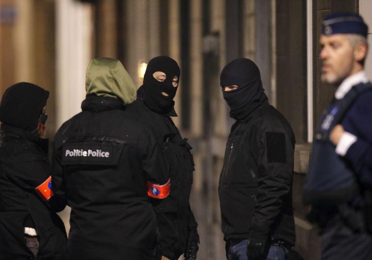 belgian police brussels