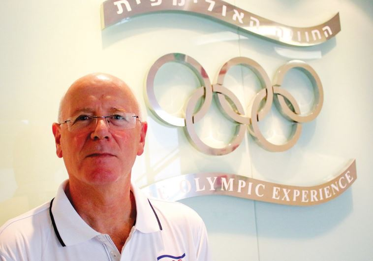 Olympic Committee of Israel Secretary General Gili Lustig