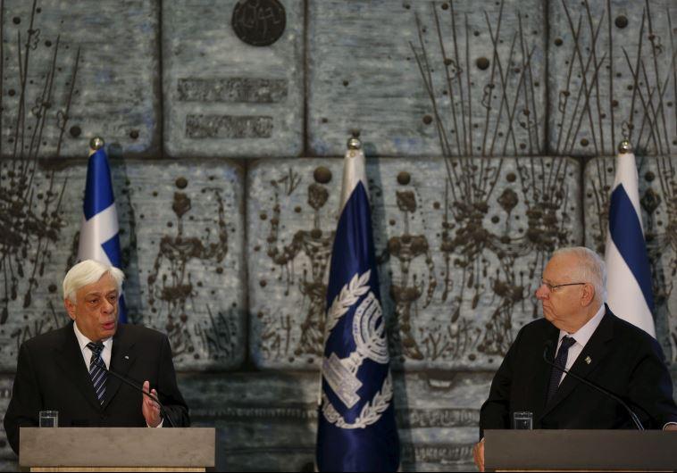 greek president
