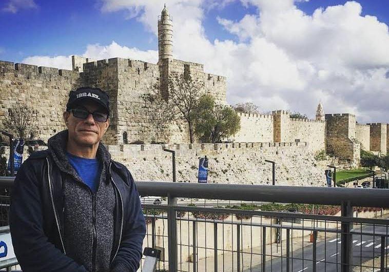 Jean-Claude Van Damm jerusalem