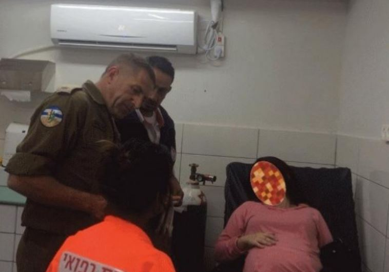 The woman from Dubai accompanied by the Israeli officer